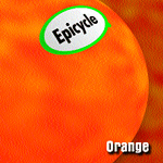 CD cover Orange by Epicycle 1998