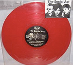 Little Sally-O  red vinyl record 1987