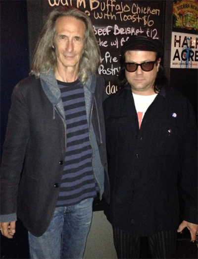 with Lenny Kaye